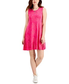 Petite Printed Flip Flop Dress, Created for Macy's