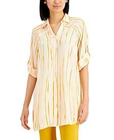 Striped Tunic Top, Created for Macy's