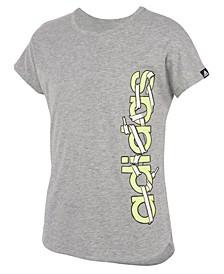 Big Girls Slit Dolman Heather T-shirts