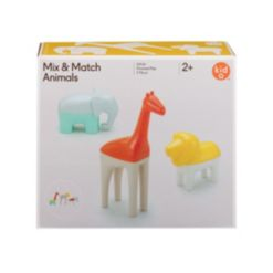 Kid O Mix and Match Pretend Play Animals Toddler Learning Toy