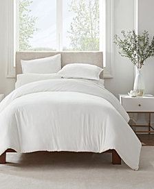 Serta Simply Clean Antimicrobial Full and Queen Duvet Set, 3 Piece
