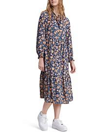 Danika Floral-Print Dress