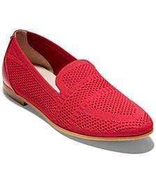 Women's Modern Classic Knit Loafers