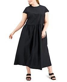 Plus Size Midi Dress, Created for Macy's