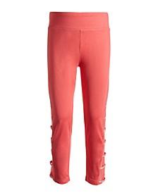Big Girls Mesh Inset Capri Leggings, Created for Macy's