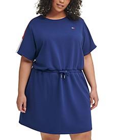 Plus Size Logo Terry Dress