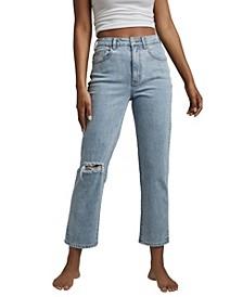 Women's Straight Stretch Jeans