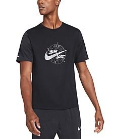 Men's Dri-FIT Miler Wild Run T-Shirt