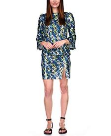 Sequin Split Mini Skirt, Regular & Petite Sizes