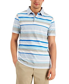 Men's Madison Striped Polo, Created for Macy's