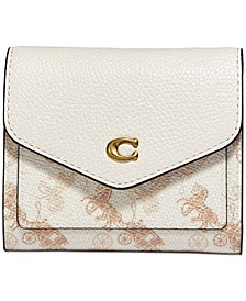 Wynn Small Wallet With Horse And Carriage Print