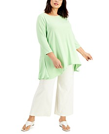 Plus Size Solid Swing Top, Created for Macy's