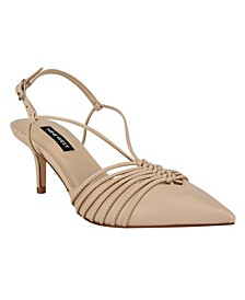 Women's After Strappy Slingback Pumps