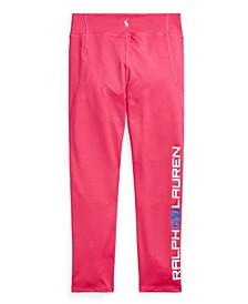 Big Girls Logo Stretch Jersey Legging Pants