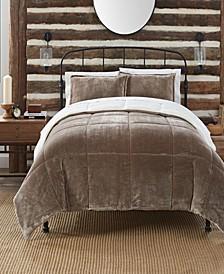 Cozy Plush 3 Piece Comforter Set, King
