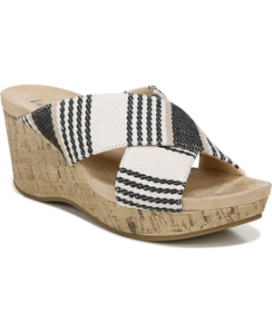 Lifestride LIFESTRIDE DONNA SLIDE WEDGE SANDALS WOMEN'S SHOES