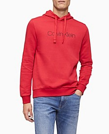 Men's Herringbone Logo Hoodie Sweatshirt