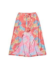 Toddler Girls All Over Print Walk-Through Skirt