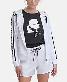 Block Letter Logo Taping Jacket