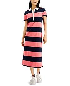 Colorblocked Polo Dress