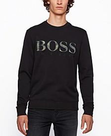 BOSS Men's Logo Relaxed-Fit Sweatshirt