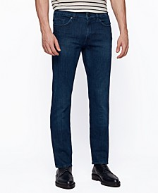 BOSS Men's Navy Slim-Fit Jeans