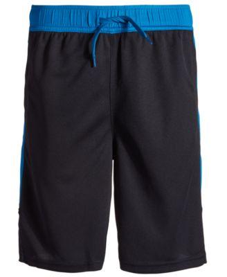 Big Boys Colorblocked Mesh Drawstring Shorts, Created for Macy's