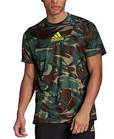 Men's Designed 2 Move Camo Printed T-Shirt
