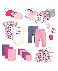 Baby Girls Layette Giftset, Set of 25