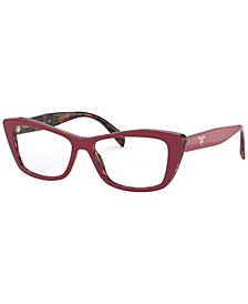 PR 15XV Women's Cat Eye Eyeglasses