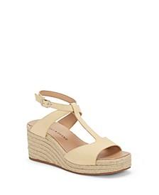 Women's Valki T-Strap Espadrille Platform Sandals