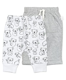 Baby Boy or Girl Pant with Koala Print, 2 Pack