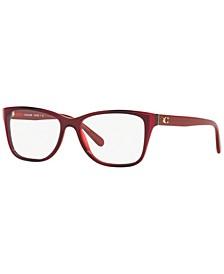 HC6129 Women's Rectangle Eyeglasses