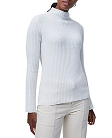 Sophia Fitted Roll-Neck Sweater