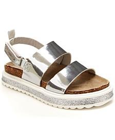 Toddler Girls Footbed Sandals