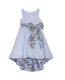 Big Girls Printed Seersucker Dress