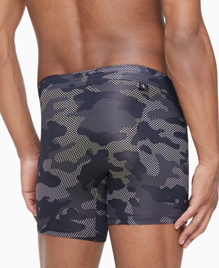 Calvin Klein Men's CK ONE Camo Boxer Briefs & Reviews - Underwear & Socks - Men - Macy's