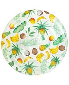 "Palm Print Giant Island 60"""