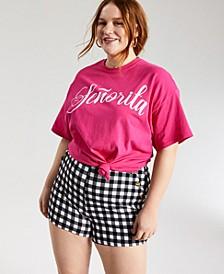 Trendy Plus Size Señorita T-Shirt