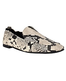 Women's Haylee Square Toe Slip-On Loafers