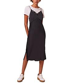 Andela Lace-Trim Slip Dress