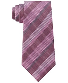 Men's Fineline Plaid Tie