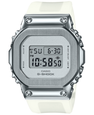 Women's Digital Clear Resin Strap Watch 38.4mm