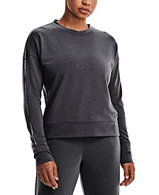 Women's Rival Terry Taped Crewneck Top