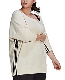 Plus Size French Terry Sweatshirt