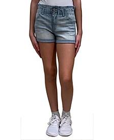 Big Girls Paperbag Waist Short