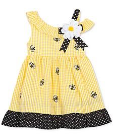Baby Girls Seersucker Bumblebee Dress