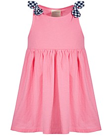 Toddler Girls Pink Cotton Dress, Created for Macy's