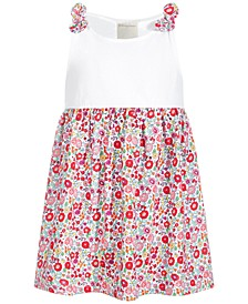 Baby Girls Garden Floral Cotton Dress, Created for Macy's