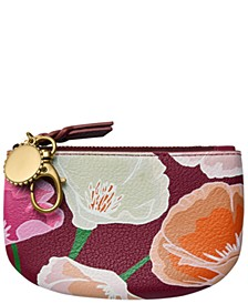 Polly Leather Zip Pouch